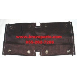 Snap On Cover For Rubber Pad